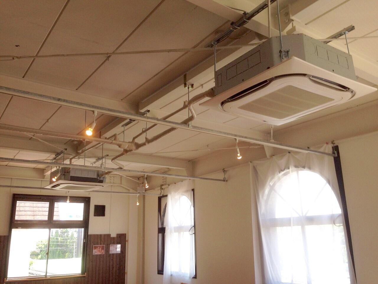 愛知県東郷町 | 業務用エアコン工事 | 27年8月20日