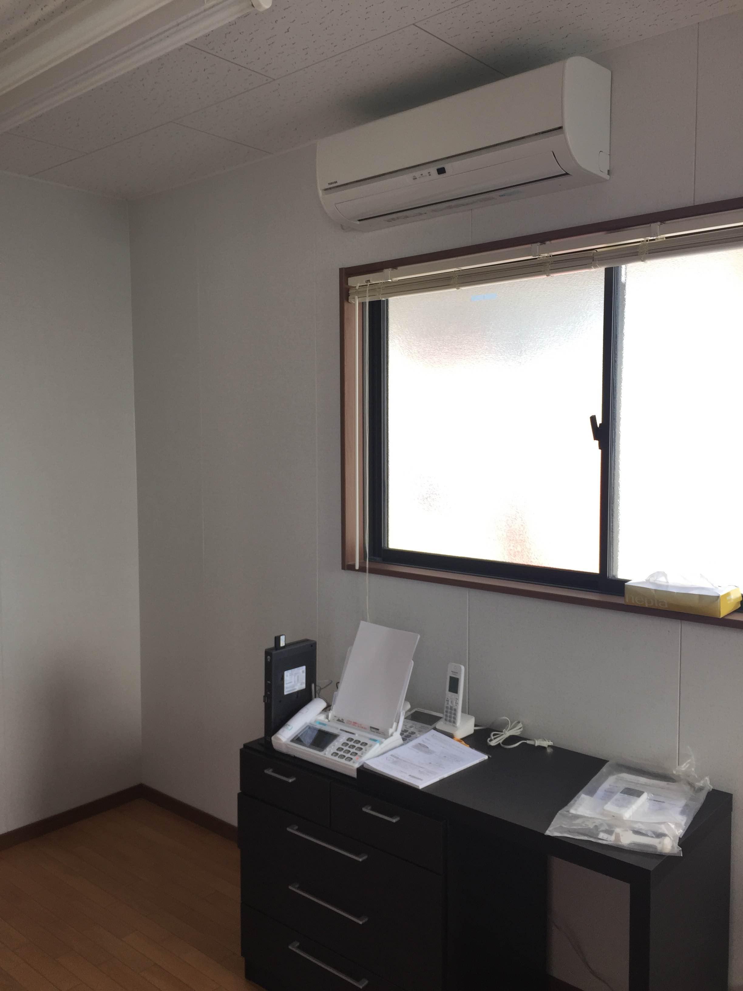 愛知県稲沢市 | 業務用エアコン工事 | 27年10月11日