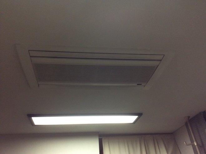 2方向天井埋込カセット形