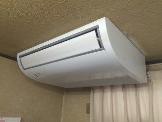 愛知県名古屋市天井吊形入替え工事