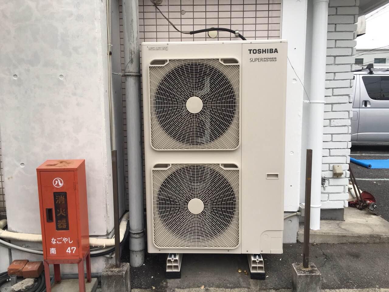 名古屋市 | 業務用エアコン工事 | 27年10月3日