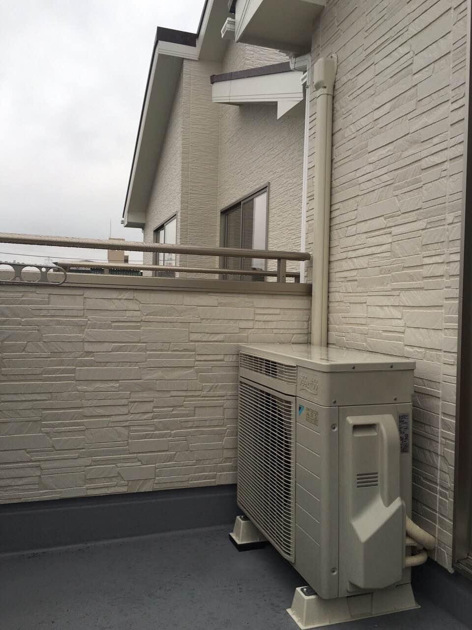 愛知県刈谷市 | 業務用エアコン工事 | 27年9月13日