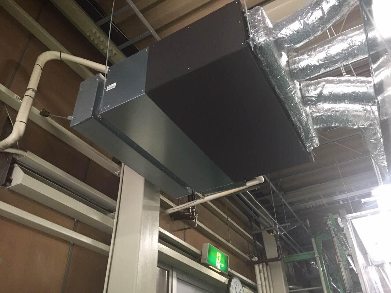 愛知県大府市 | 業務用エアコン工事 | 27年10月15日