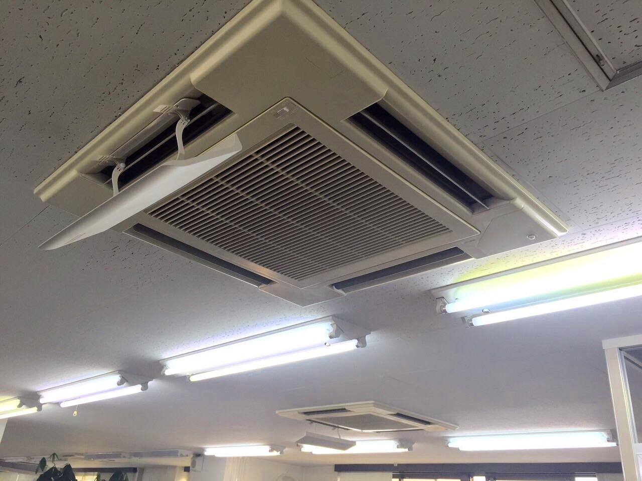 名古屋市   業務用エアコン工事   27年9月29日
