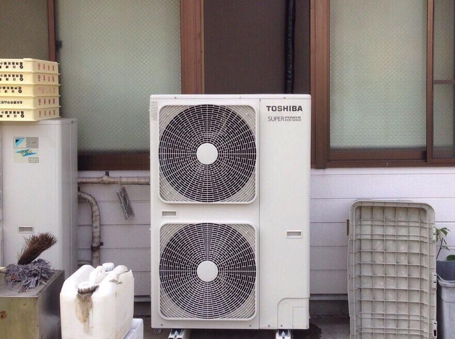 愛知県清須市 | 業務用エアコン工事 | 27年9月10日