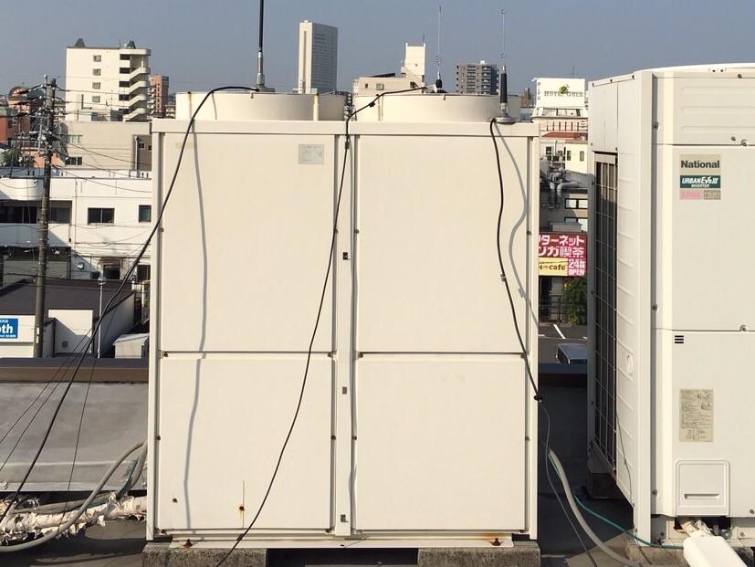 名古屋市 | 業務用エアコン工事 | 27年9月29日