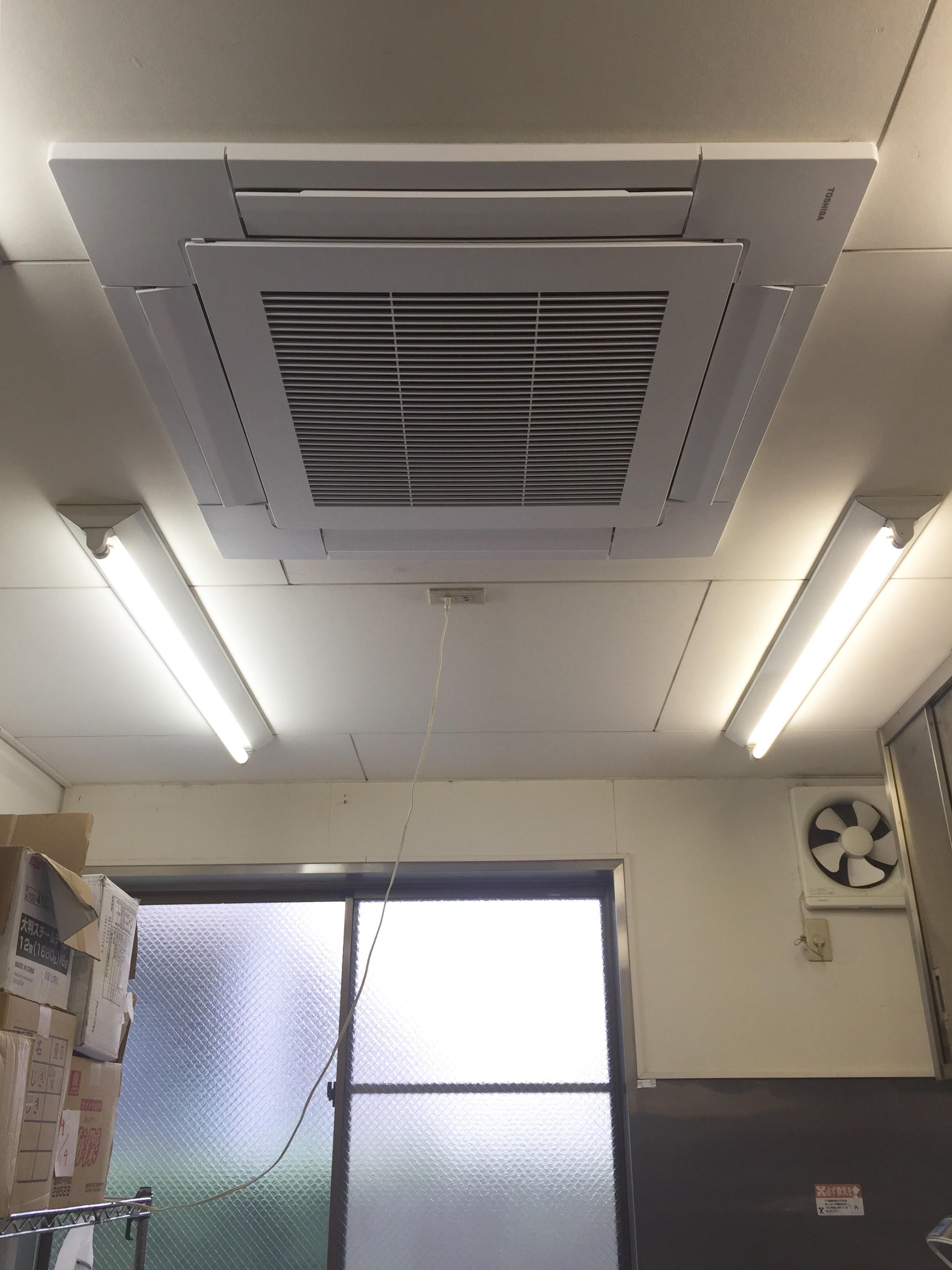愛知県小牧市 | 業務用エアコン工事 | 27年9月20日