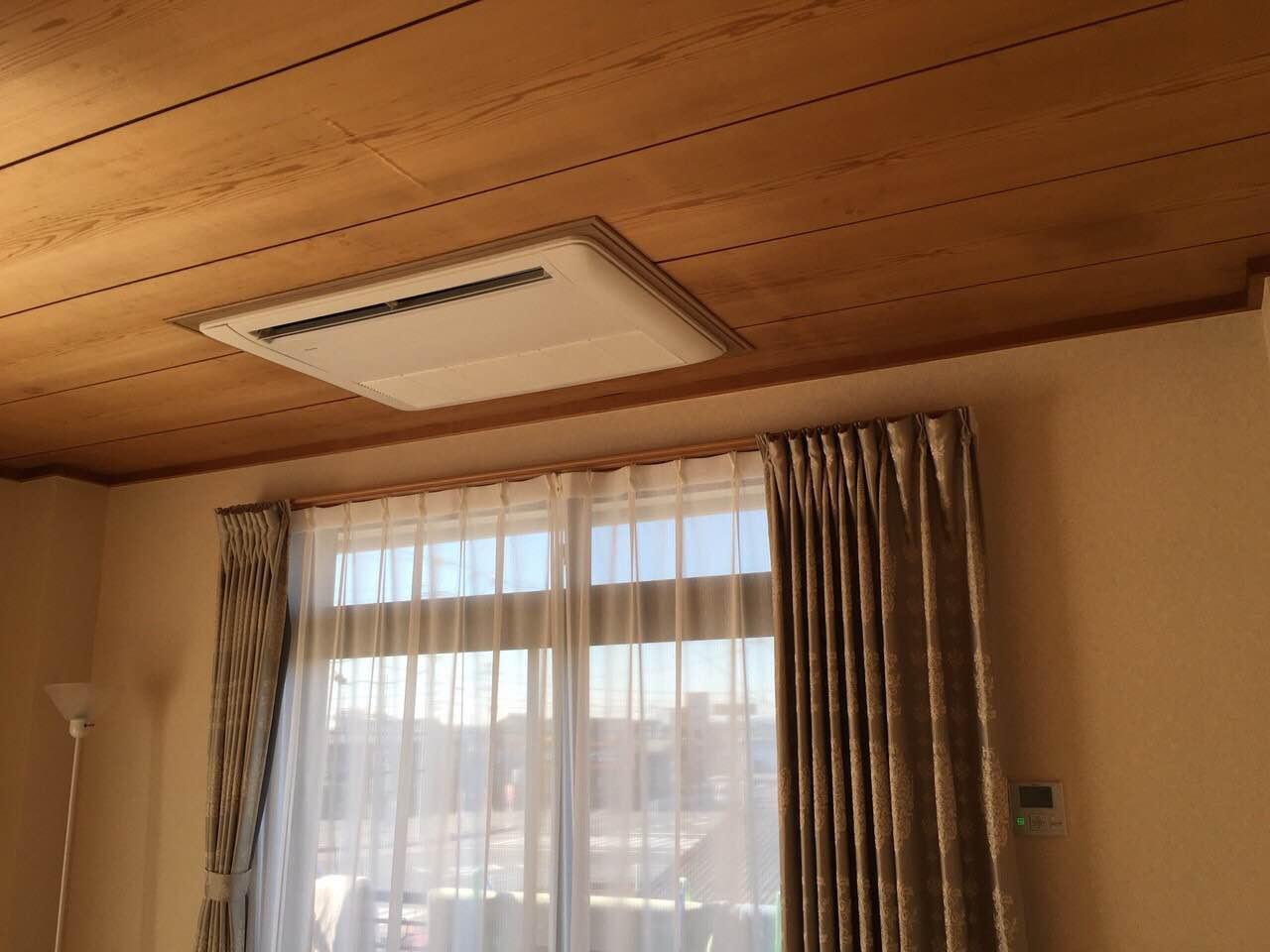 愛知県弥富市 | 業務用エアコン工事