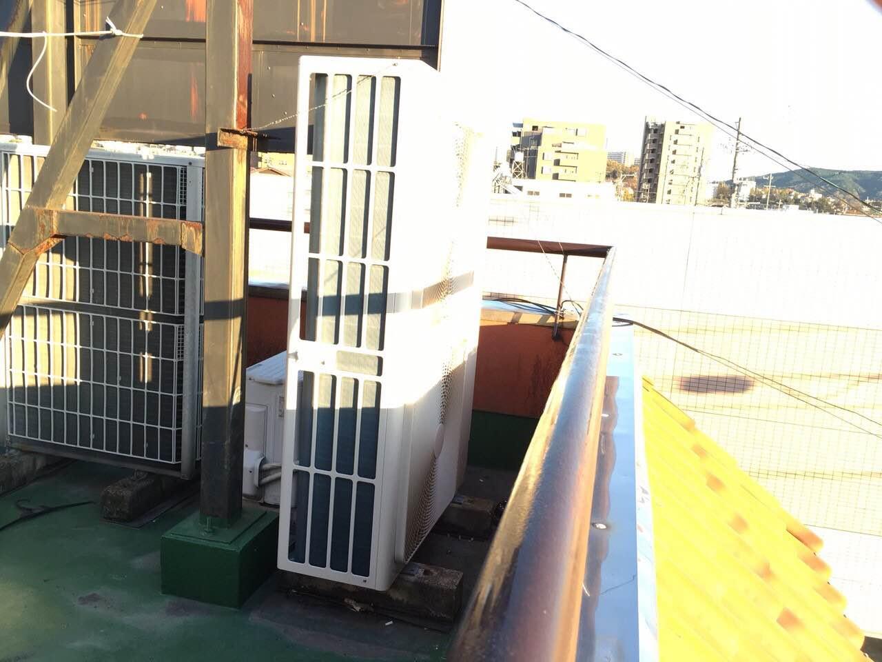 春日井市 | 業務用エアコン工事 | 27年12月18日