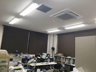 天カセ4方向 事務所 取り付け工事